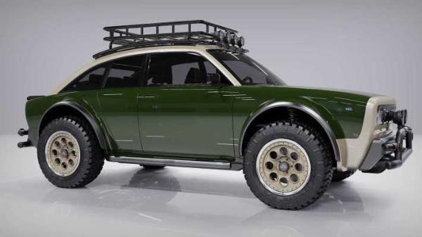 复古车身 纯电动SUV Alpha Jax亮相