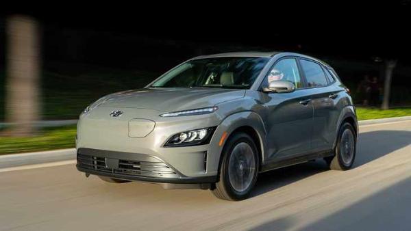 现代的新KONA电动汽车将于春季推出 续航里程为483公里