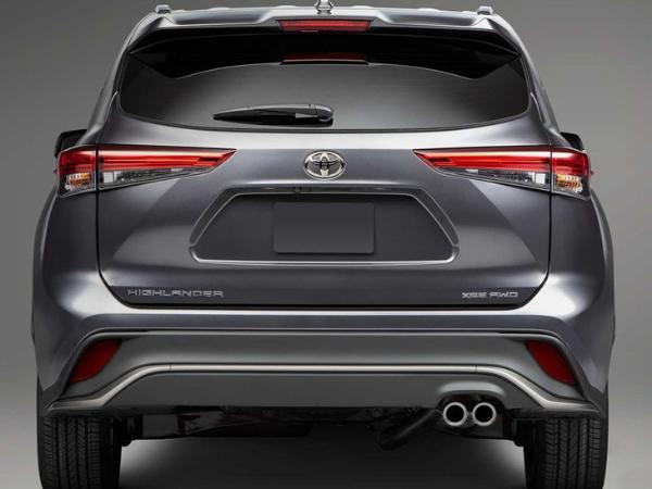 一汽丰田版汉兰达专利图曝光 搭载运动套件 设计更大胆