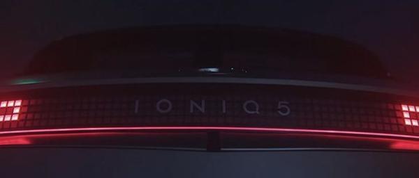 现代IONIQ 5或将于2月16日亮相 最大续航里程450km