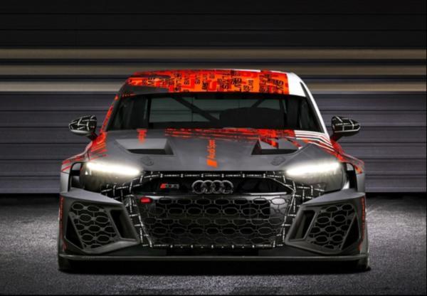 奥迪RS 3 LMS伪装车正式发布 动力性能多方位升级