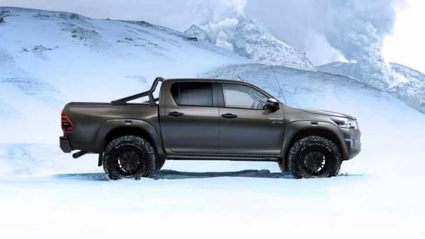 丰田Hilux全新AT35级套件发布 售价16.7万元