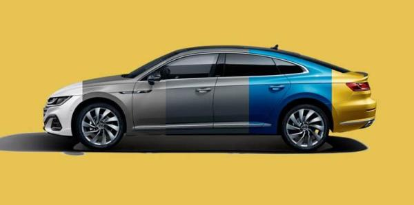 新大众CC系列将推动定制汽车色彩配置更加丰富