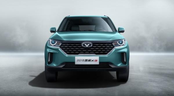 2021款凯翼X3将于2月26日正式上市 新增1.5T车型