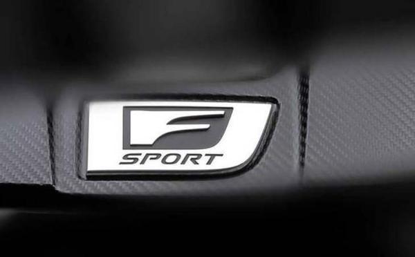 雷克萨斯F Sport预告图 将于2月23日零时发布