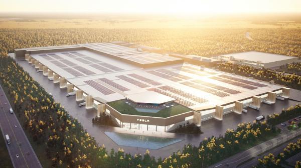 特斯拉柏林工厂将把当地改造成电池制造中心