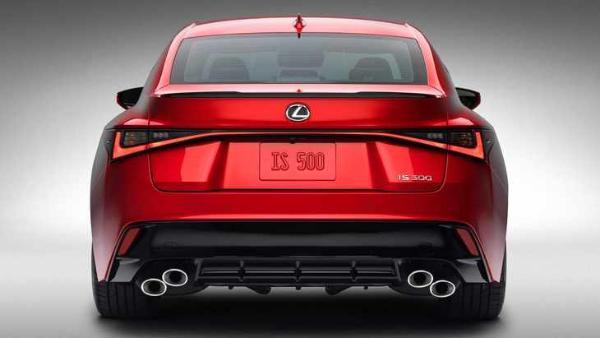 雷克萨斯IS 500首发亮相 换装5.0L V8发动机 三季度上市