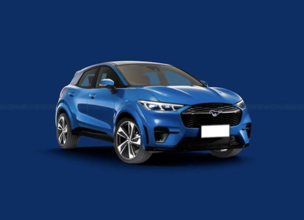 福特全新纯电动SUV渲染曝光将于2023年正式推出