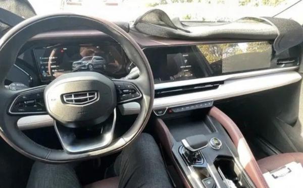 吉利KX11最快上半年上市 或将上海车展正式亮相