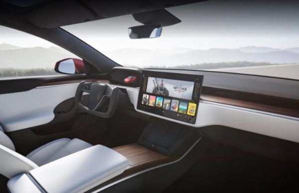 新款特斯拉Model S内饰有新意