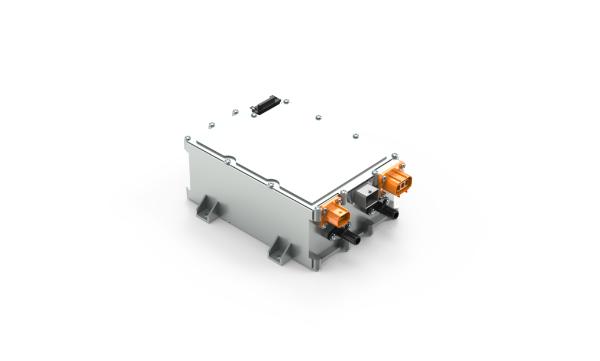 联合电子公司的第一个6.6千瓦的车辆充电和配电装置(CharCON)已成功批准生产