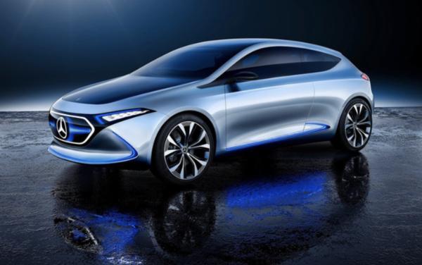 全新奔驰入门级轿车渲染图曝光 有望明年正式发布