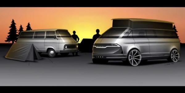 全新斯柯达1203渲染图曝光 外观设计极具未来感