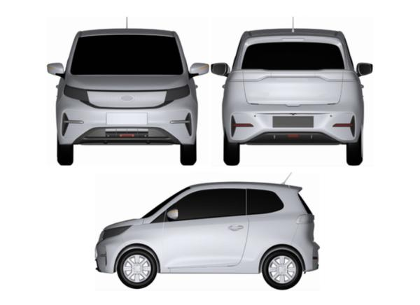 奇瑞捷途EV专利图曝光 分别提供双门/四门两种车型