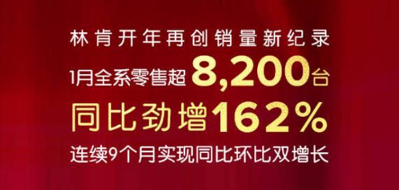 二线豪华品牌黑马 林肯中国1月销量超美国