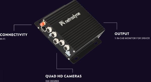 Netradyne推出视觉安全平台配件 获得车外360度全景