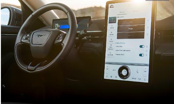 来自咖啡杯的灵感!福特为野马马赫-E车型提供物理音量控制旋钮