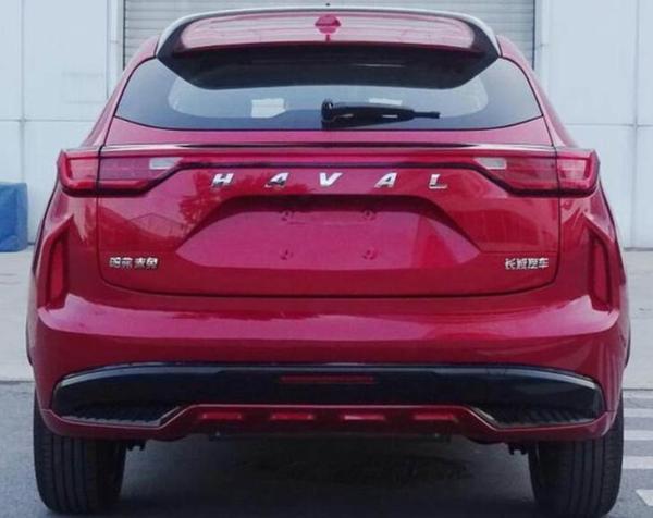哈弗全新SUV或定名赤兔 轿跑设计 基于全新平台打造