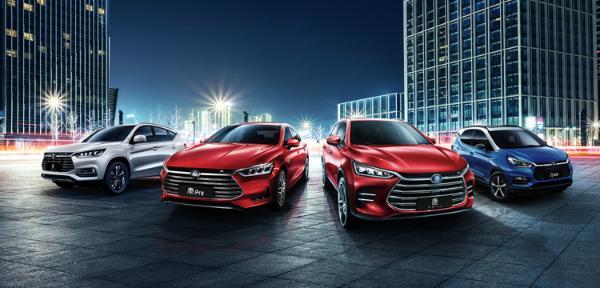 比亚迪1月新能源汽车销量同比增183%,全年冲击40万辆目标