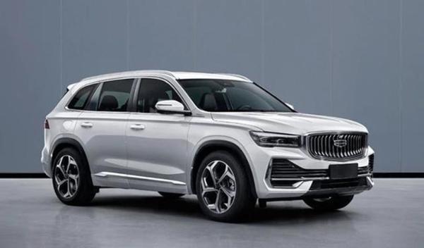 吉利KX11申报图曝光 将于上海车展首发亮相/搭2.0T发动机
