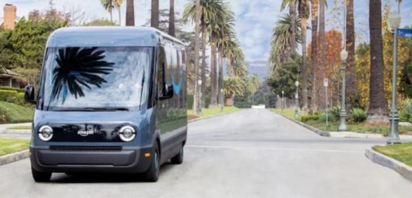 亚马逊正式开始使用里维埃拉电动卡车配送商品