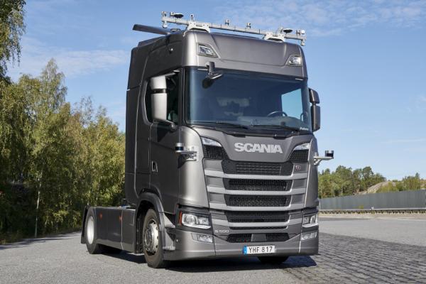 斯堪尼亚获相关部门许可 未来与瑞典图森合作测试自动驾驶卡车