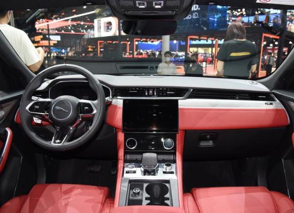 新款F-PACE最新消息曝光 将4月上海车展上市 配置再升级