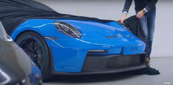 保时捷911 GT3预告图曝光