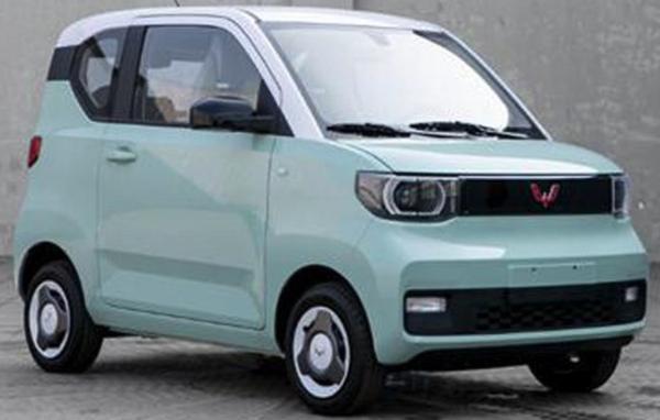 新款五菱宏光MINI EV将于3月28日上市 外观细节有所调整