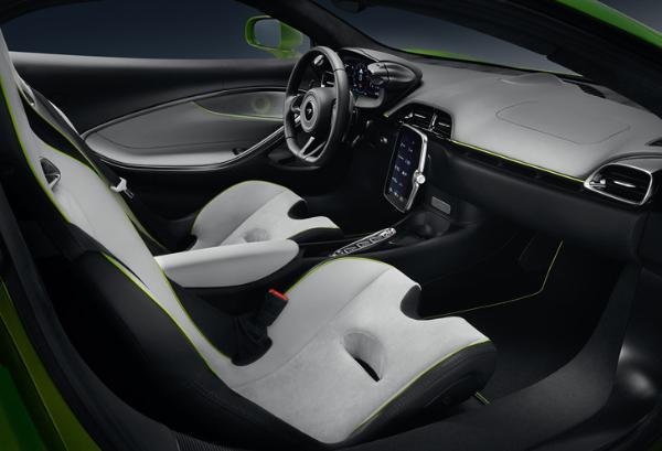 迈凯伦Artura亮相 搭载混动系统 首次应用V6发动机