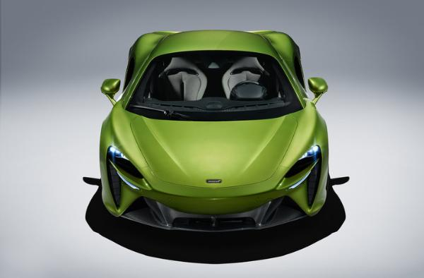 迈凯轮阿图拉首次使用V6发动机首次推出混合动力系统