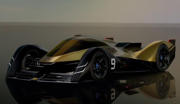 莲花发布纯电动E-R9耐力赛车