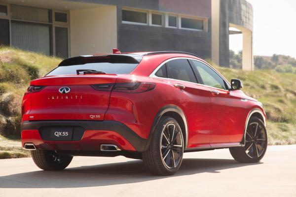 英菲尼迪轿跑SUV QX55海外上市 约30万元起售