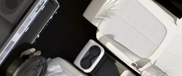 现代爱奥尼亚5内部预览释放通过液晶显示屏