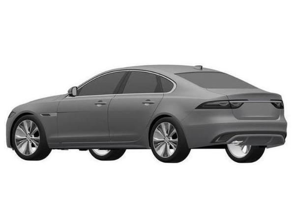 中期改款国产捷豹XEL专利图 还原海外版车型设计