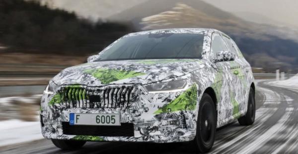 全新斯柯达晶锐今年5月首发亮相 将推旅行版车型