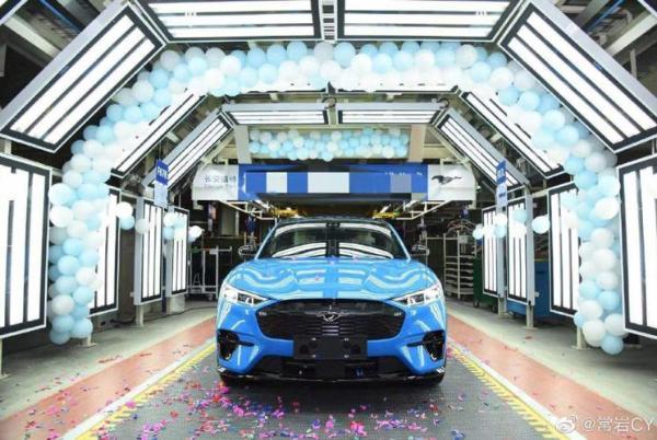 Mustang Mach-E试制车下线 或售35万元
