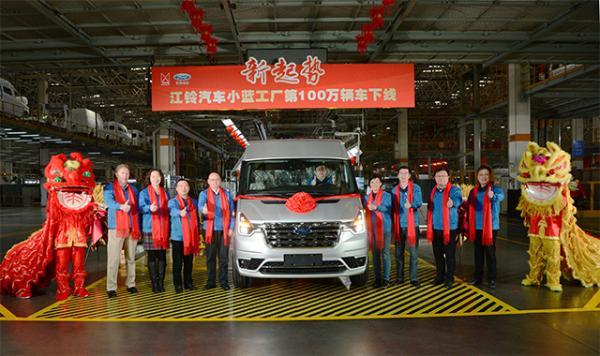 2月销售17588辆 江铃商用车占比超60%