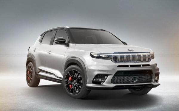 Jeep新款小型SUV渲染曝光基于CMP平台