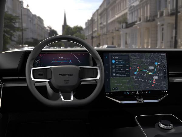 TomTom推出混合云导航解决方案 以提高驾驶安全性和舒适性