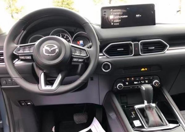 新款马自达CX-5亮相海外 搭2.5L发动机 熏黑套装更运动