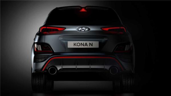 现代KONA A预告图发布,SUV界的小钢炮来了