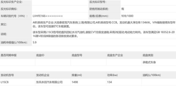 全新本田思域新消息 有望上海车展亮相 预计第三季度上市