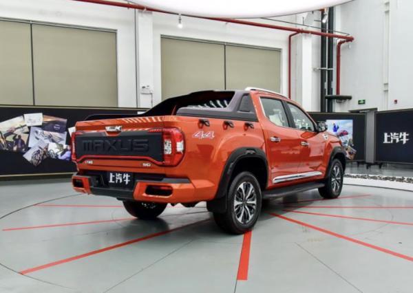 上汽大通MAXUS T90将3月31日正式上市 中文昵称上汽牛