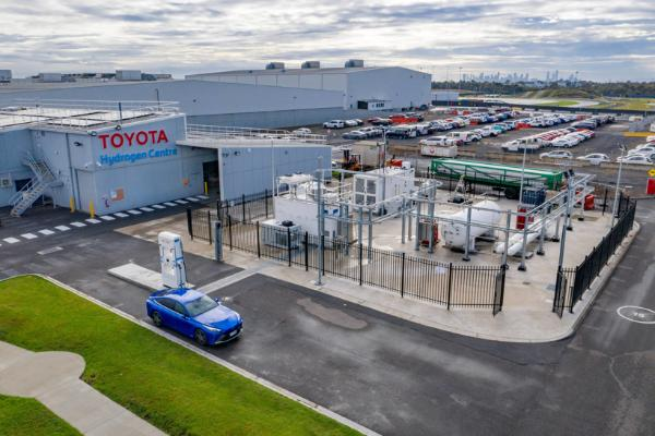丰田在澳大利亚维多利亚州开设第一个商业氢燃料站