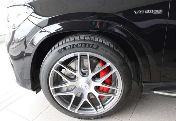 奔驰全新GLE 63 S AMG实拍图曝光 配备轻混动力系统