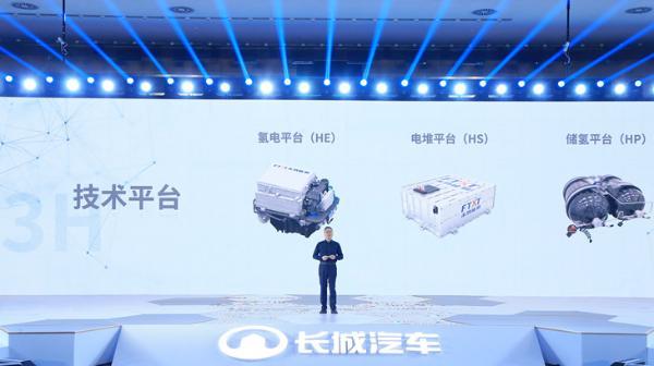 全球首款C级氢燃料电池SUV今年推出 长城汽车发布氢能战略
