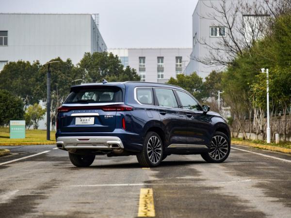 星途揽月正式上市 推6款车型 售价16.89-22.99万元