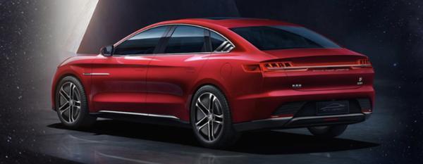 比亚迪汉EV dTCS正式首发亮相 将于4月7日正式上市