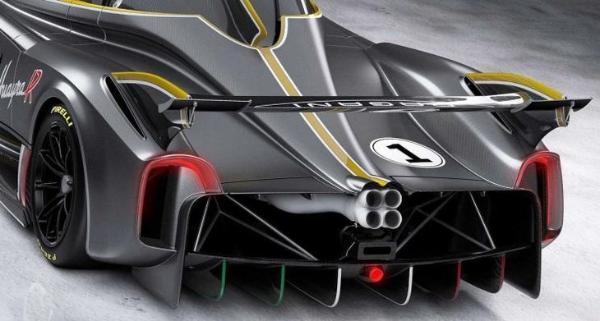 搭6.0L V12自然吸气发动机 帕加尼Huayra R正式发布